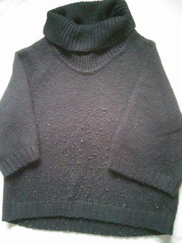 毛玉があるセーター