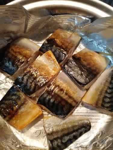 塩サバ 美味しそうな焼き加減